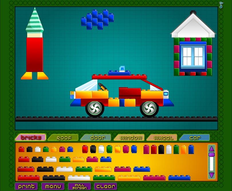 конструктор лего онлайн играть